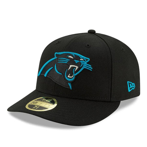 New Era Carolina Panthers Black Omaha Low Profile 59FIFTY Fitted Hat