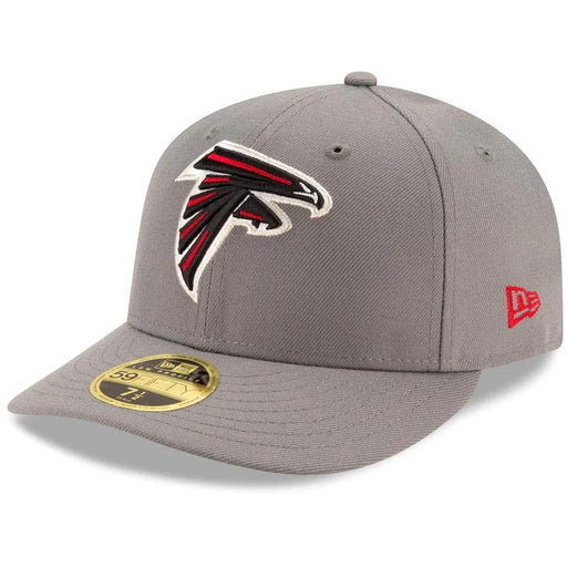 Grey Atlanta Falcons Low Profile 59fifty Fitted hat