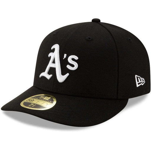 New Era Oakland Athletics Black Team Low Profile 59FIFTY Fitted Hat