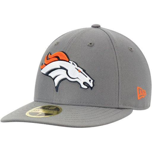 New Era Denver Broncos Graphite Storm Low Profile 59FIFTY Fitted Hat