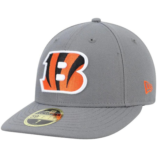 New Era Cincinnati Bengals Graphite Storm Low Profile 59FIFTY Fitted Hat