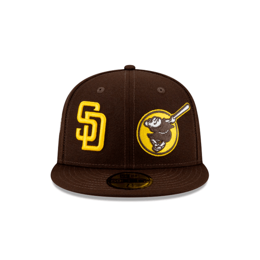San Diego Padres Patch Pride Fitted Hat