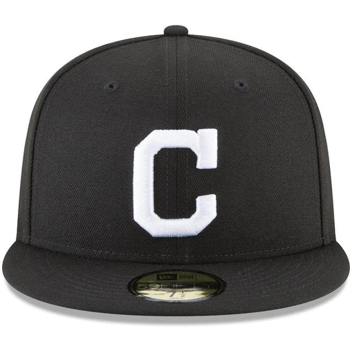 New Era Cleveland Indian Black 59FIFTY Fitted Hat