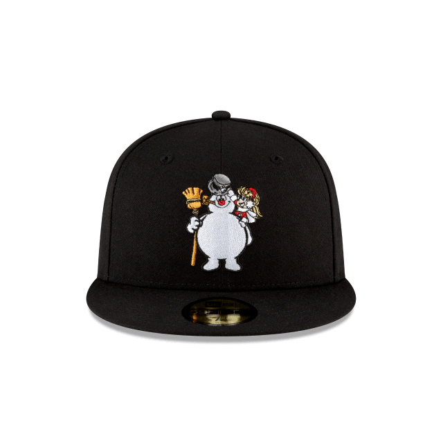 Frosty The Snowman Karen Fitted Hat
