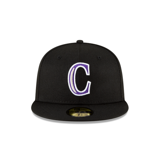 New Era Colorado Rockies Ligature 59Fifty Fitted Hat