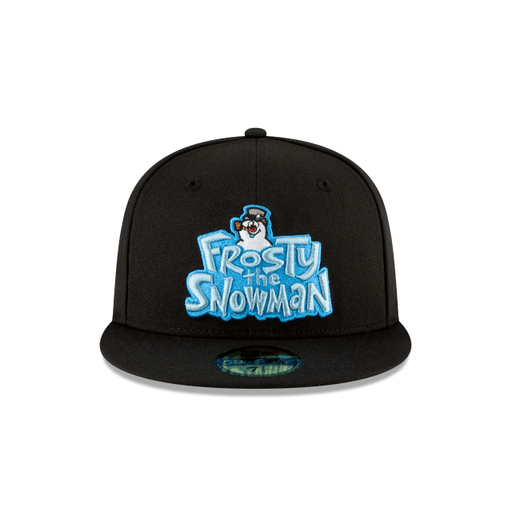 Frosty The Snowman Script Fitted Hat