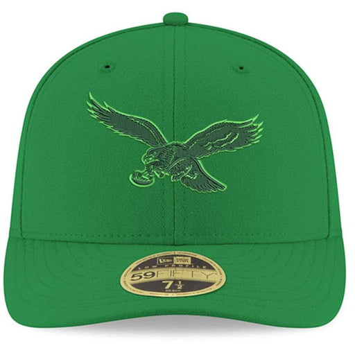 New Era Philadelphia Eagles Green Pop Low Profile 59FIFTY Fitted Hat
