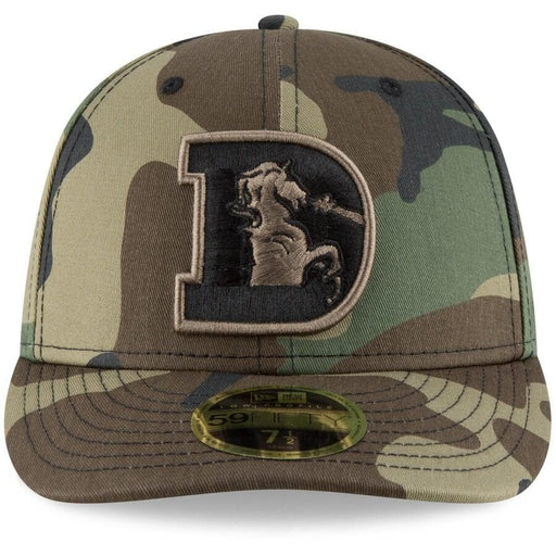 New Era Denver Broncos Woodland Camo Low Profile 59FIFTY Fitted Hat