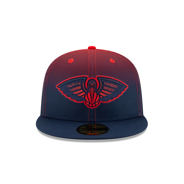 New Era New New Orleans Pelican Back Half 59Fifty Fitted Hat