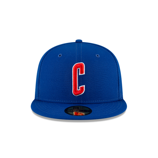 New Era Chicago Cubs Ligature 59Fifty Fitted Hat