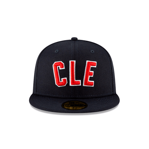 New Era Cleveland Indians Ligature 59Fifty Fitted Hat