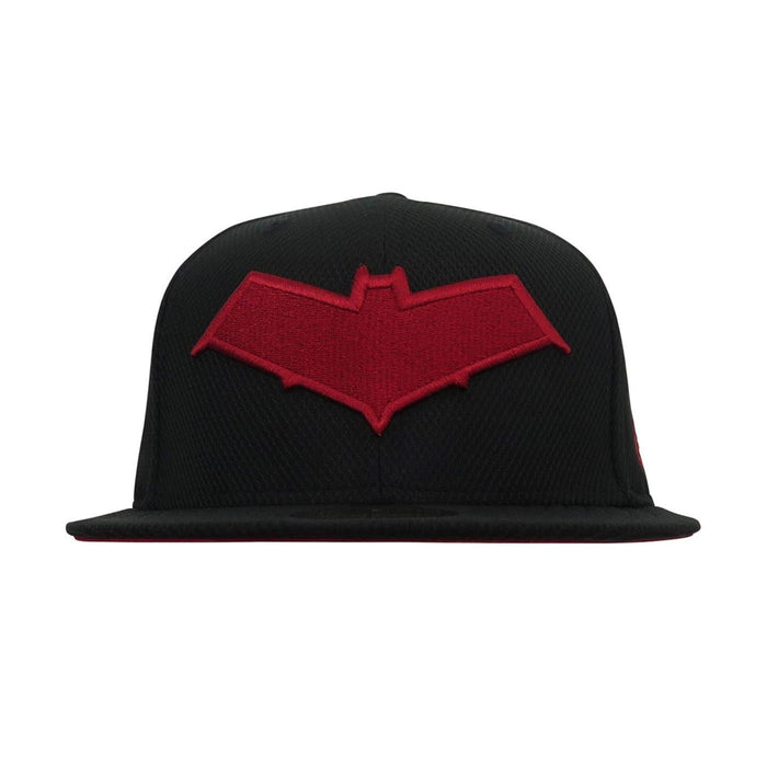 New Era Red Hood Symbol 59Fifty Fitted Hat