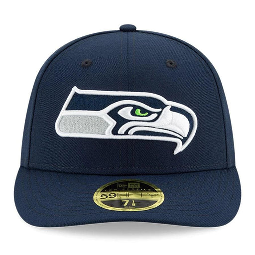 New Era Seattle Seahawks Navy Blue Omaha Low Profile 59FIFTY Fitted Hat