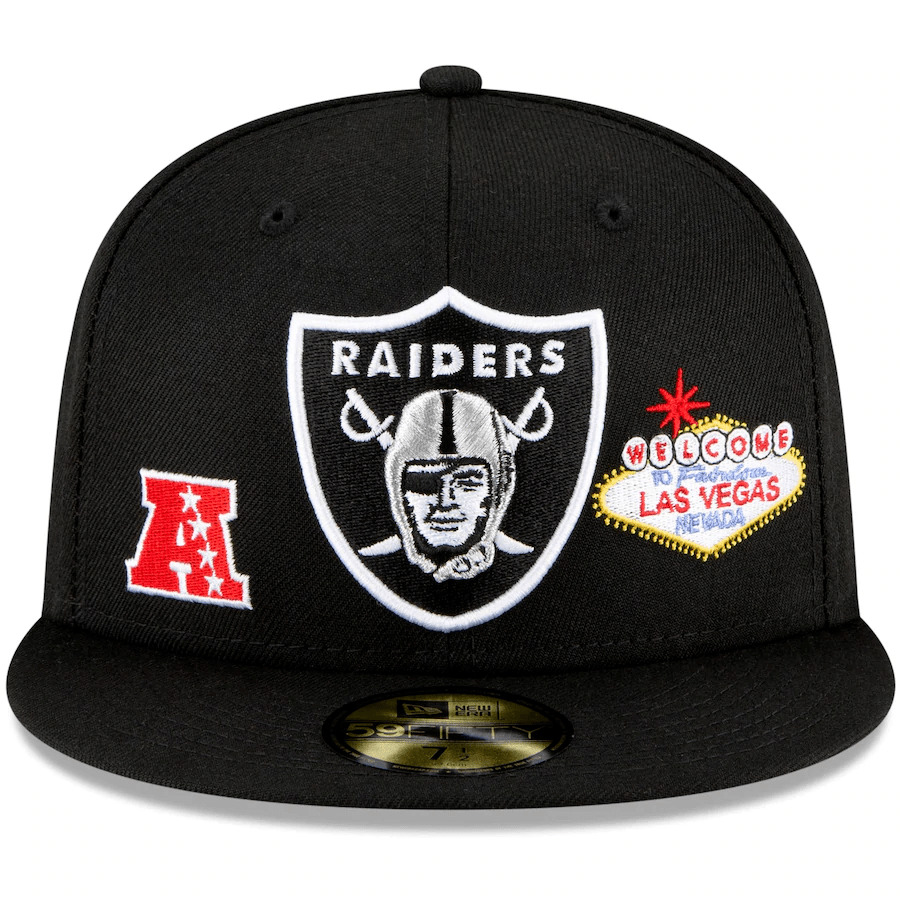 Chucky Raiders fitted hat
