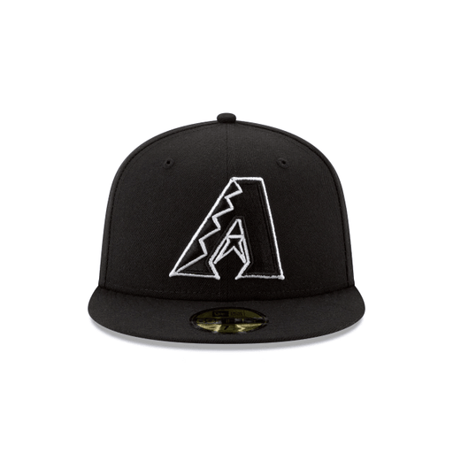 Arizona Diamondbacks Black and White Fitted Hat