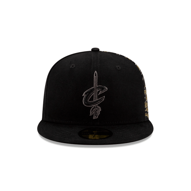 Cleveland Cavaliers Camo Panel Fitted Hat