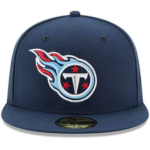 New Era Tennessee Titans Navy Blue Omaha 59FIFTY Fitted Hat