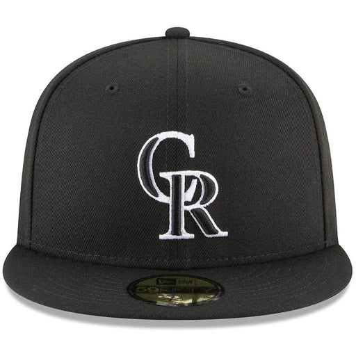 New Era Colorado Rockies Black 59FIFTY Fitted Hat