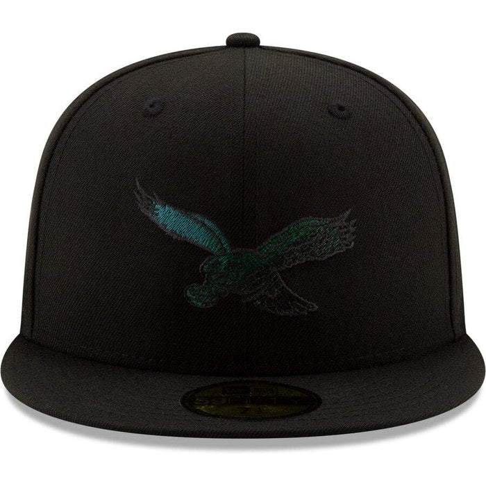 New Era Philadelphia Eagles Black Historic 59FIFTY Fitted Hat