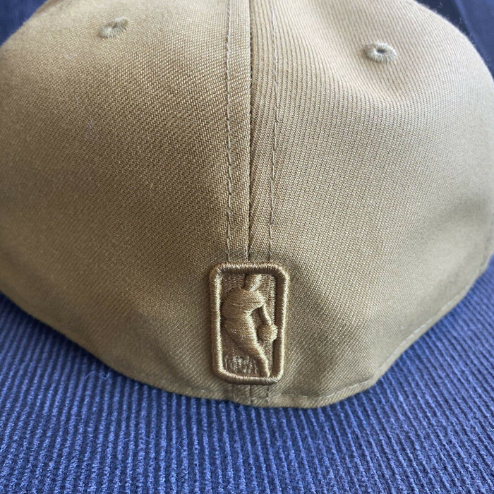 New Era Golden State Warriors Light Brown 59Fifty Fitted Hat