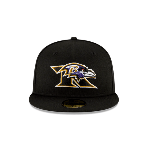 Baltimore Ravens Logo Mix 59Fifty Fitted Hat