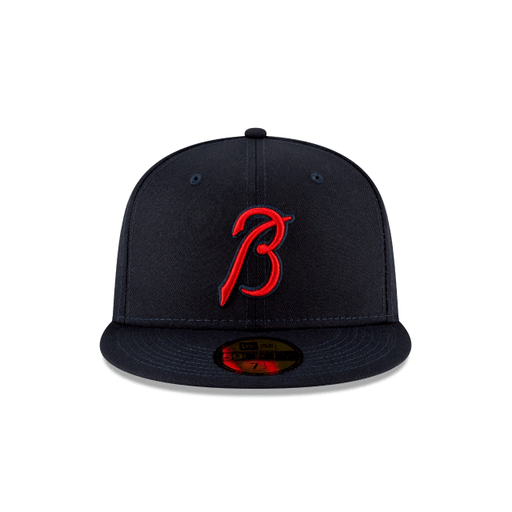 New Era Atlanta Braves Ligature 59Fifty Fitted Hat