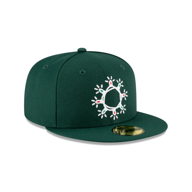Wreath Light Fitted Hat