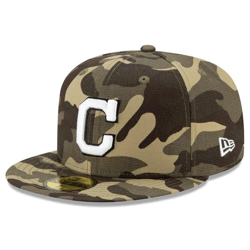 New Era Cleveland Indians 2021 Armed Forces 59FIFTY Fitted Hat