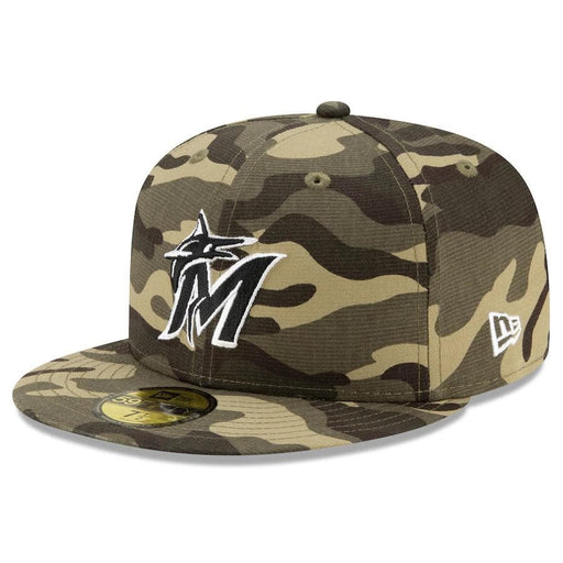 New Era Miami Marlins 2021 Armed Forces 59FIFTY Fitted Hat