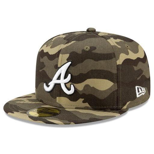 New Era Atlanta Braves 2021 Armed Forces 59FIFTY Fitted Hat