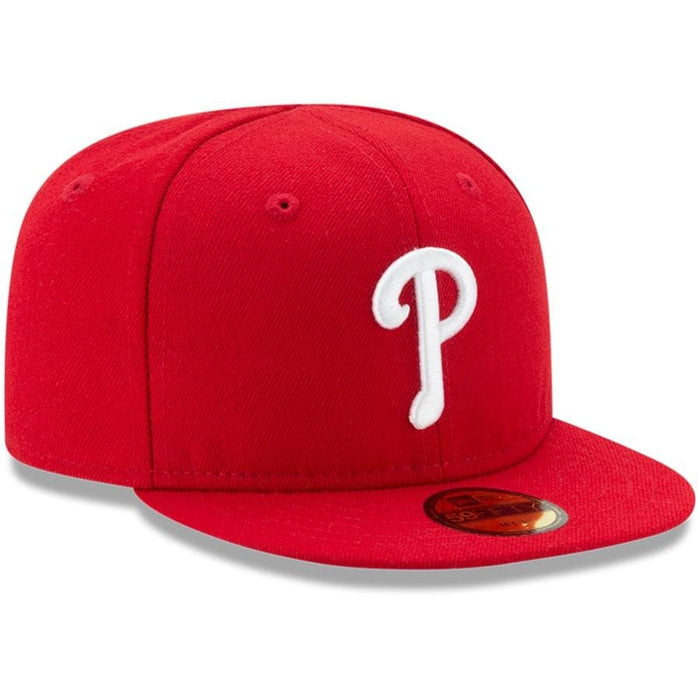 Red Philadelphia Phillies Fitted Hat