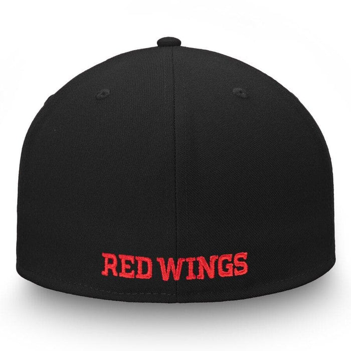 Detroit Red Wings Fanatics Branded Versalux Fitted Hat