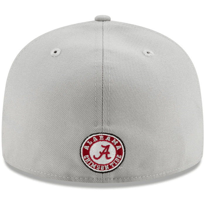 Alabama Crimson Tide Grey Fitted Hat