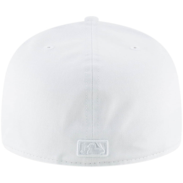 New York Yankees White Fitted Hat