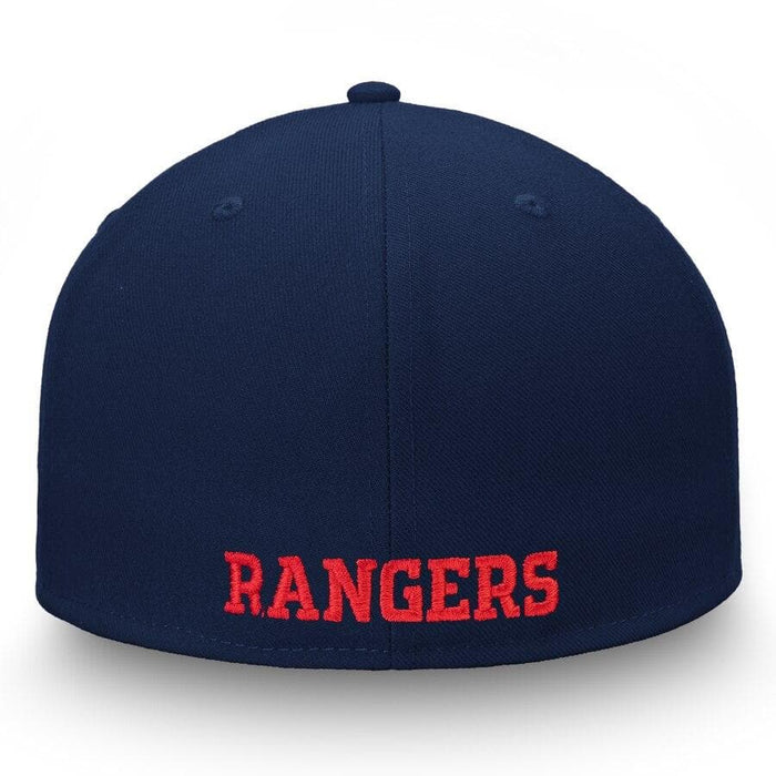 New York Rangers Fanatics Branded Versalux Fitted Hat