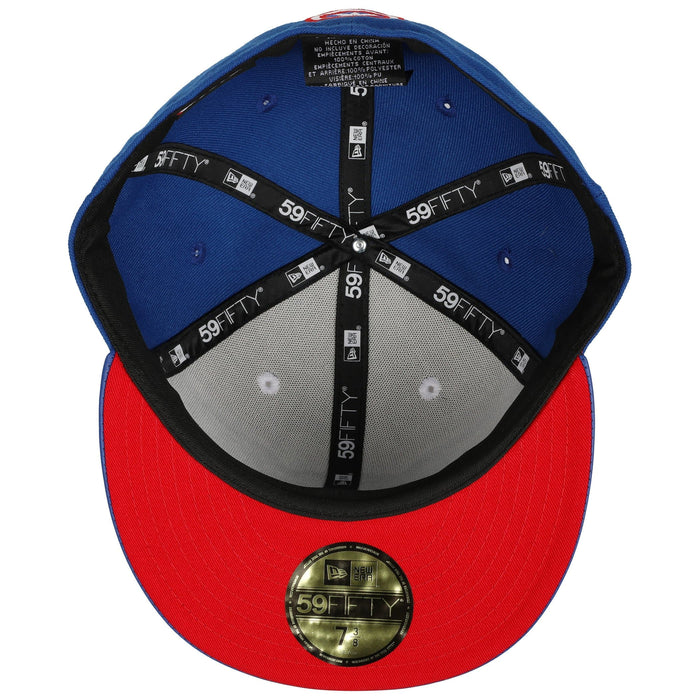 New Era Captain America Blue & White 59Fifty Fitted Hat