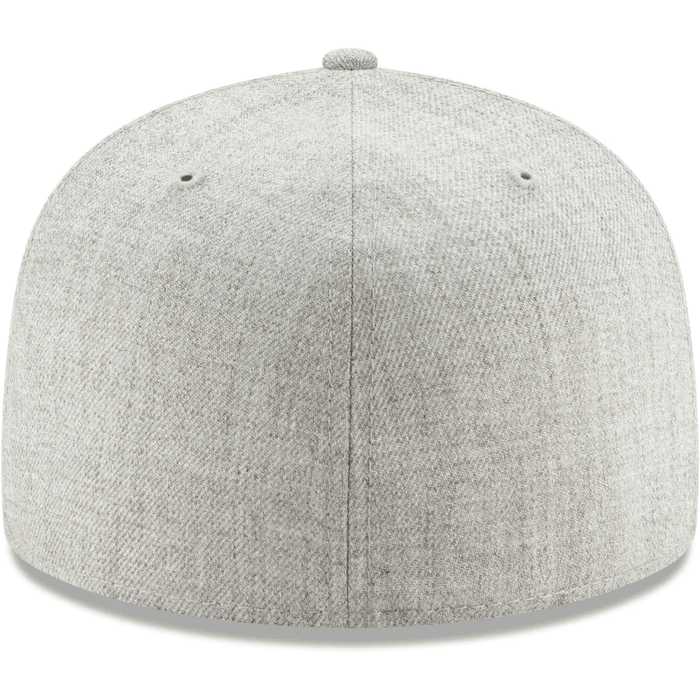 Blank Heather Gray Fitted Hat