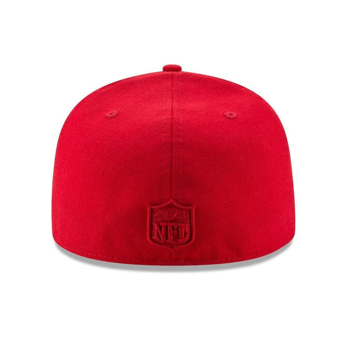 New Era Red NFL Fitted Hat