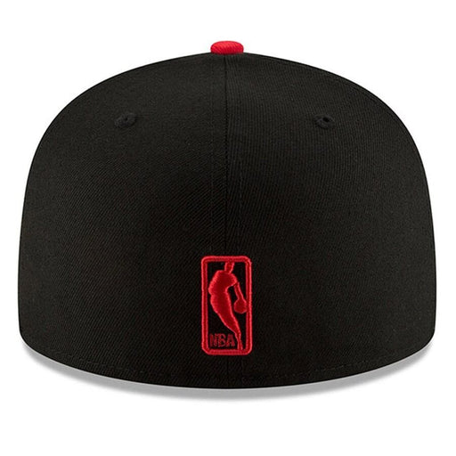 New Era Toronto Raptors Black and Red Fitted Hat