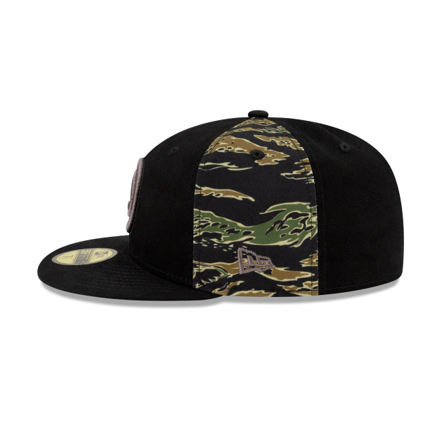 Atlanta Hawks Camo Panel Fitted Hat