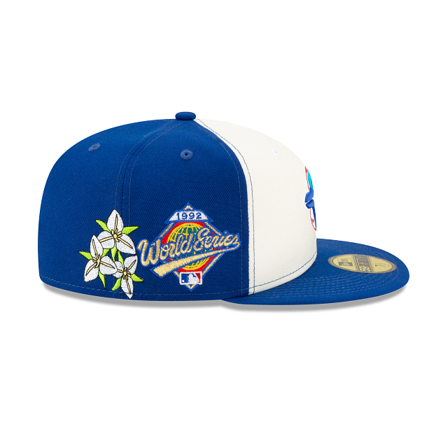 Toronto Blue Jays State Flower Fitted Hat
