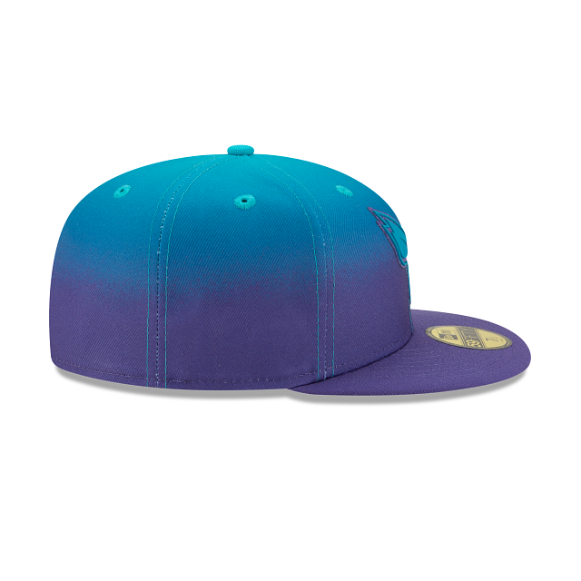 New Era Charlotte Hornets Back Half 59Fifty Fitted Hat