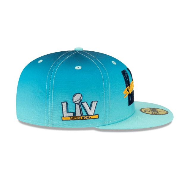 New Era Superbowl LV (Blue) 59Fifty Fitted Hat