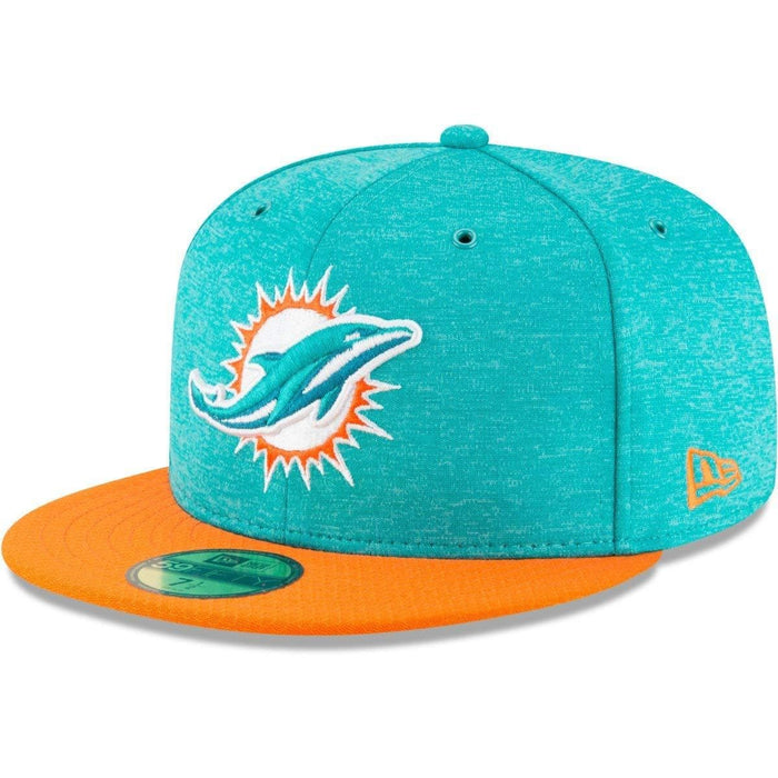 New Era Miami Dolphins NFL Sideline 18 59fifty Fitted Hat