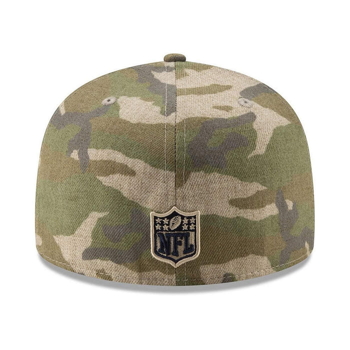 New Era Oakland Raiders Camo 59FIFTY Fitted Hat
