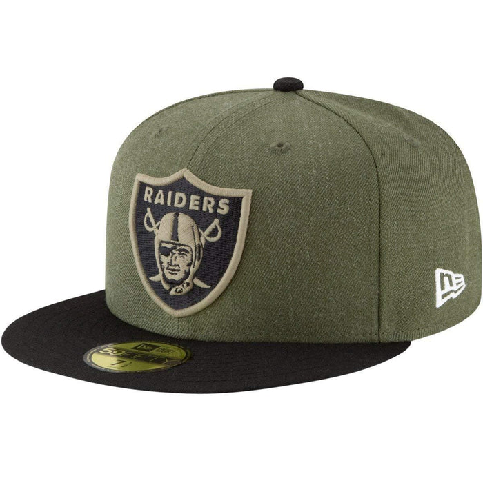 New Era Oakland Raiders Military 59Fifty Fitted Hat