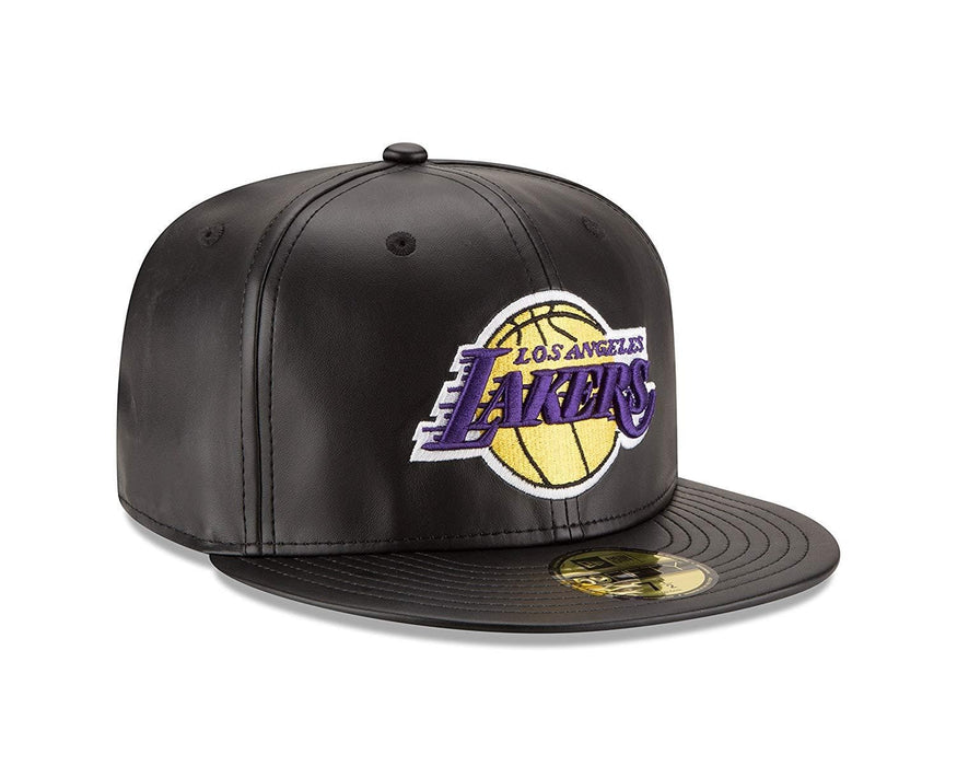 New Era Men's Leather Lakers 59FIFTY Fitted Hat