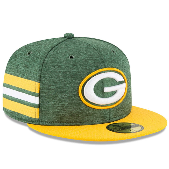 New Era Green Bay Packers Sideline Home On Field 59fifty Fitted Hat