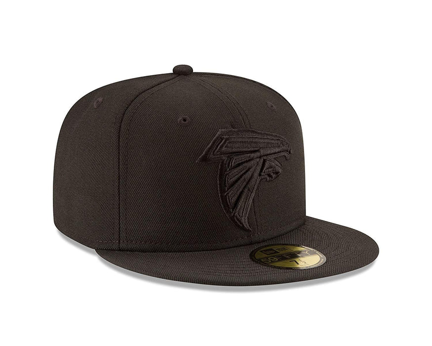 New Era Atlanta Falcons Black 59FIFTY Fitted Hat