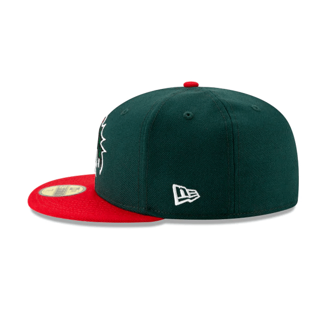 New Era Holly Green 59Fifty Fitted Hats